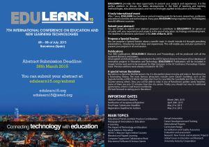 edulearn15_brochure